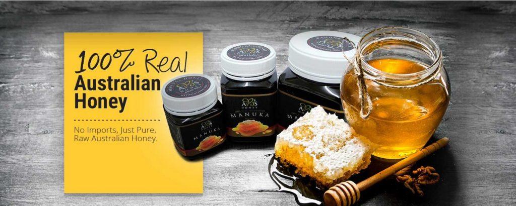 100% real australian honey