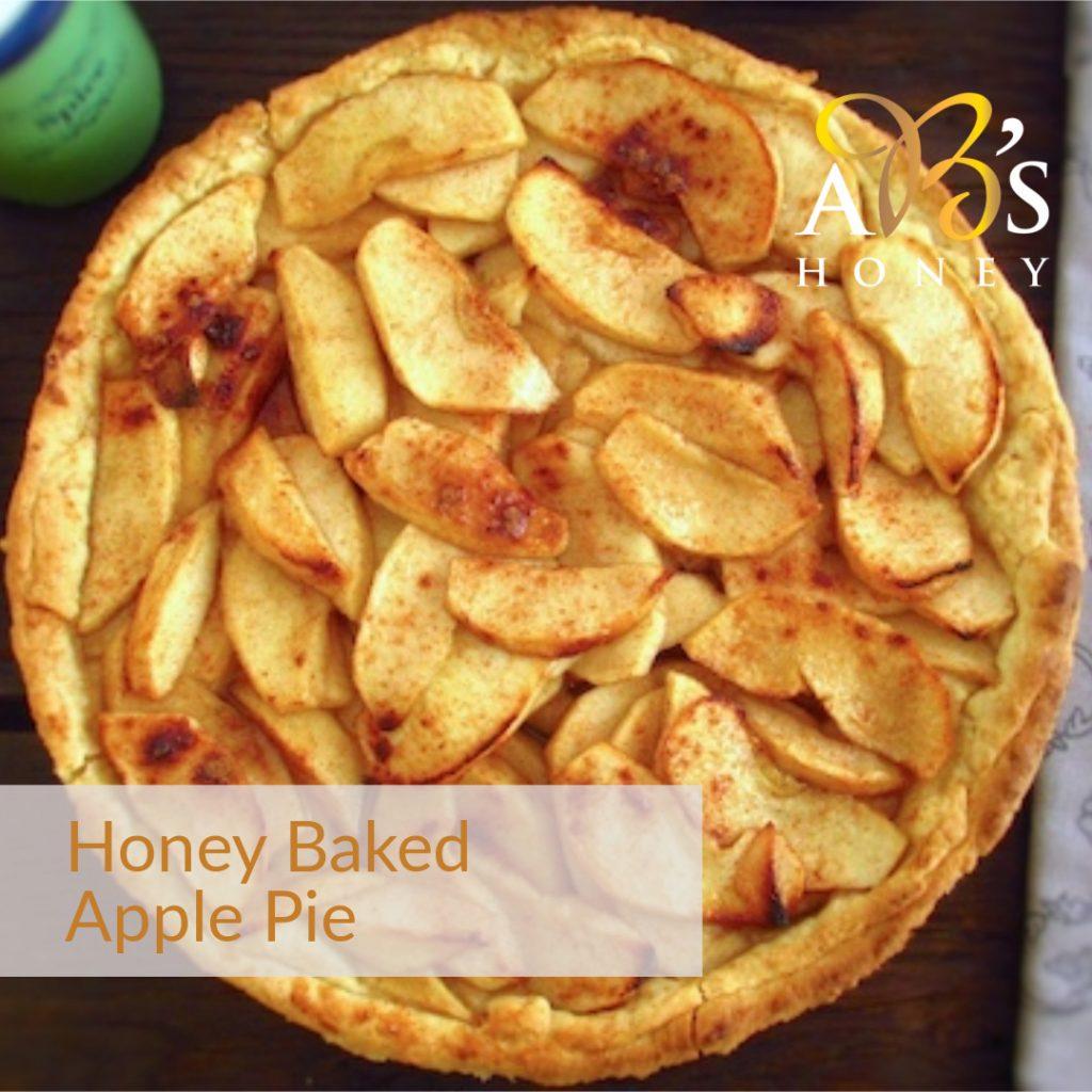 Apple Pie Recipe with Honey - Homemade Apple Tart Recipe