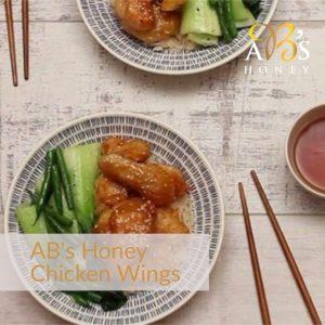 honey, Soy, Garlic Chicken Wings Recipe - with Ironbark Honey