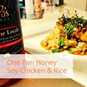 Honey Soy Chicken Garlic Thighs Recipe