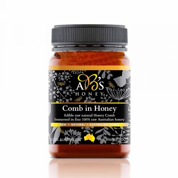 Australian comb-in-honey