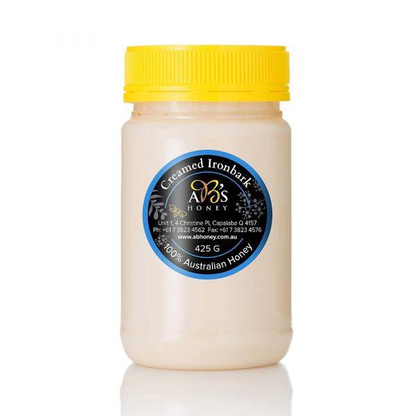 Australian creamed ironbark honey