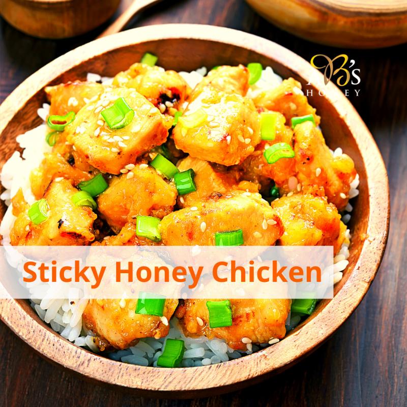 Honey Soy Chicken Garlic Recipe