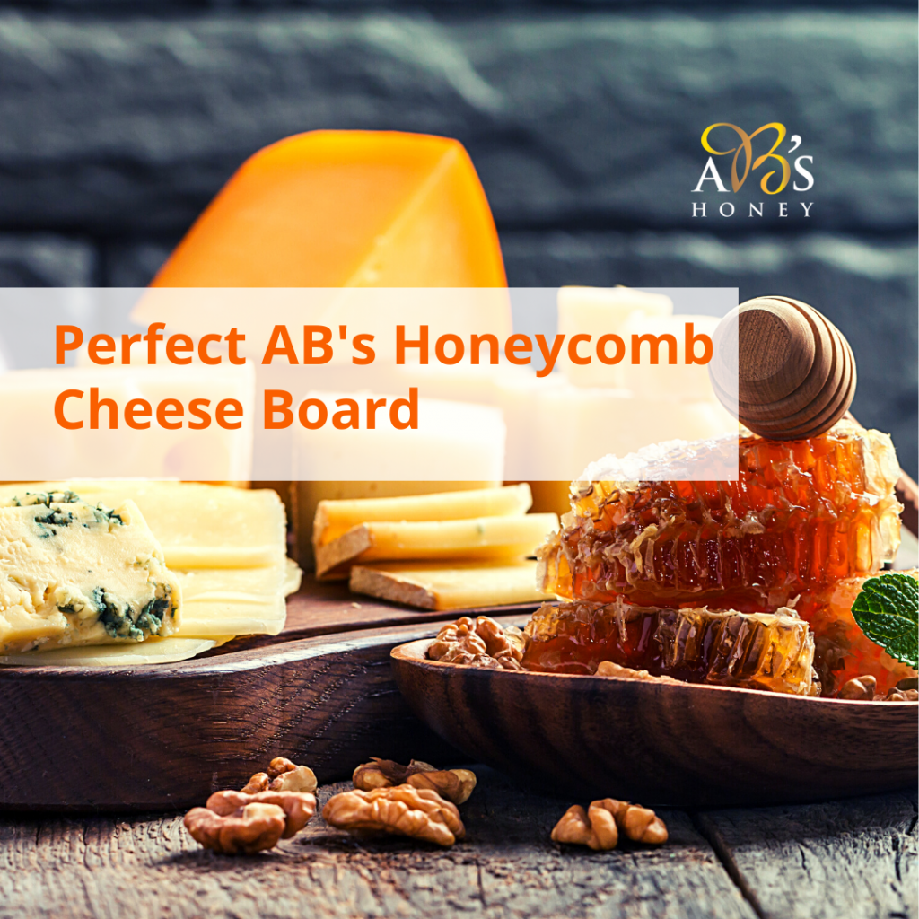 Honeycomb Cheese Board Platter