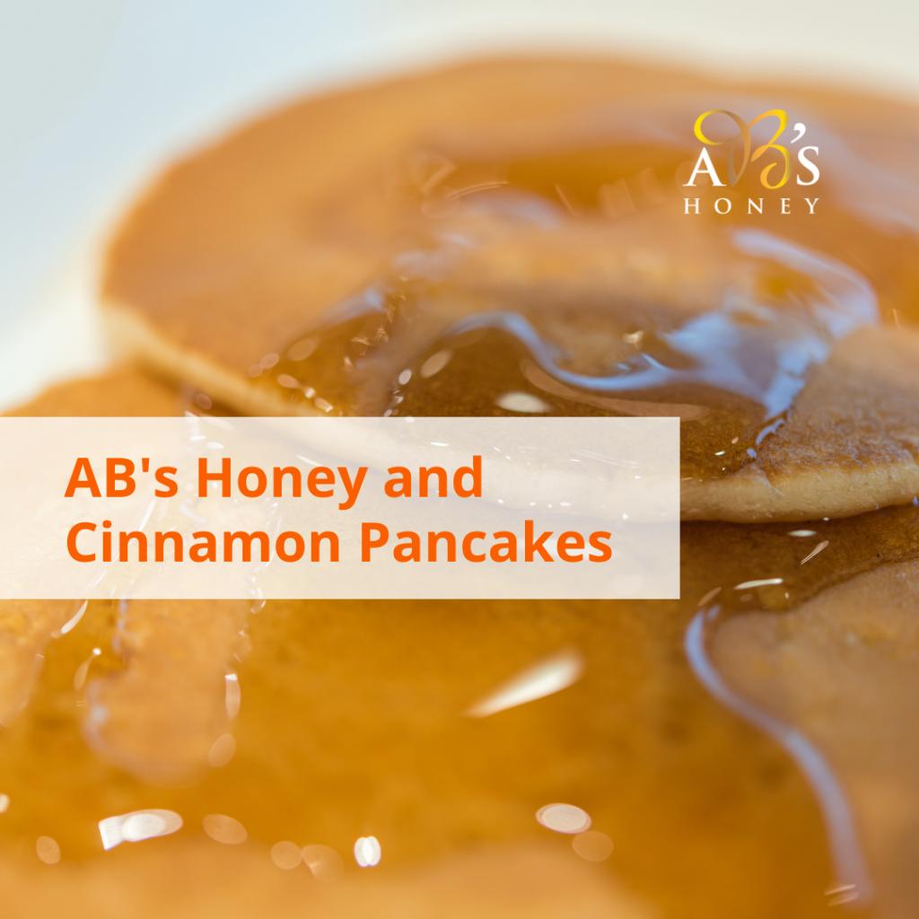 Honey Cinnamon Pancakes